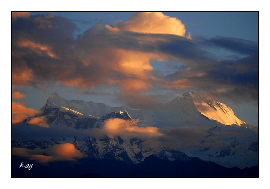 Photograph Annapurna I ( 8091 m.)  in the morning by HUSEYIN AY on 500px