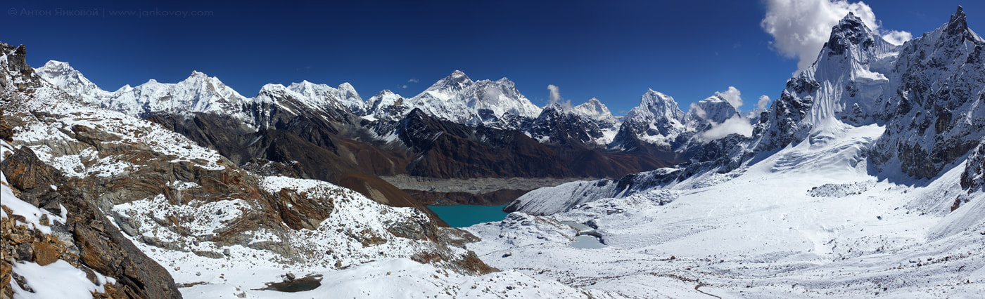 Photograph View of Himalayas from Renjo La Pass (5,345 m) by Anton Jankovoy on 500px