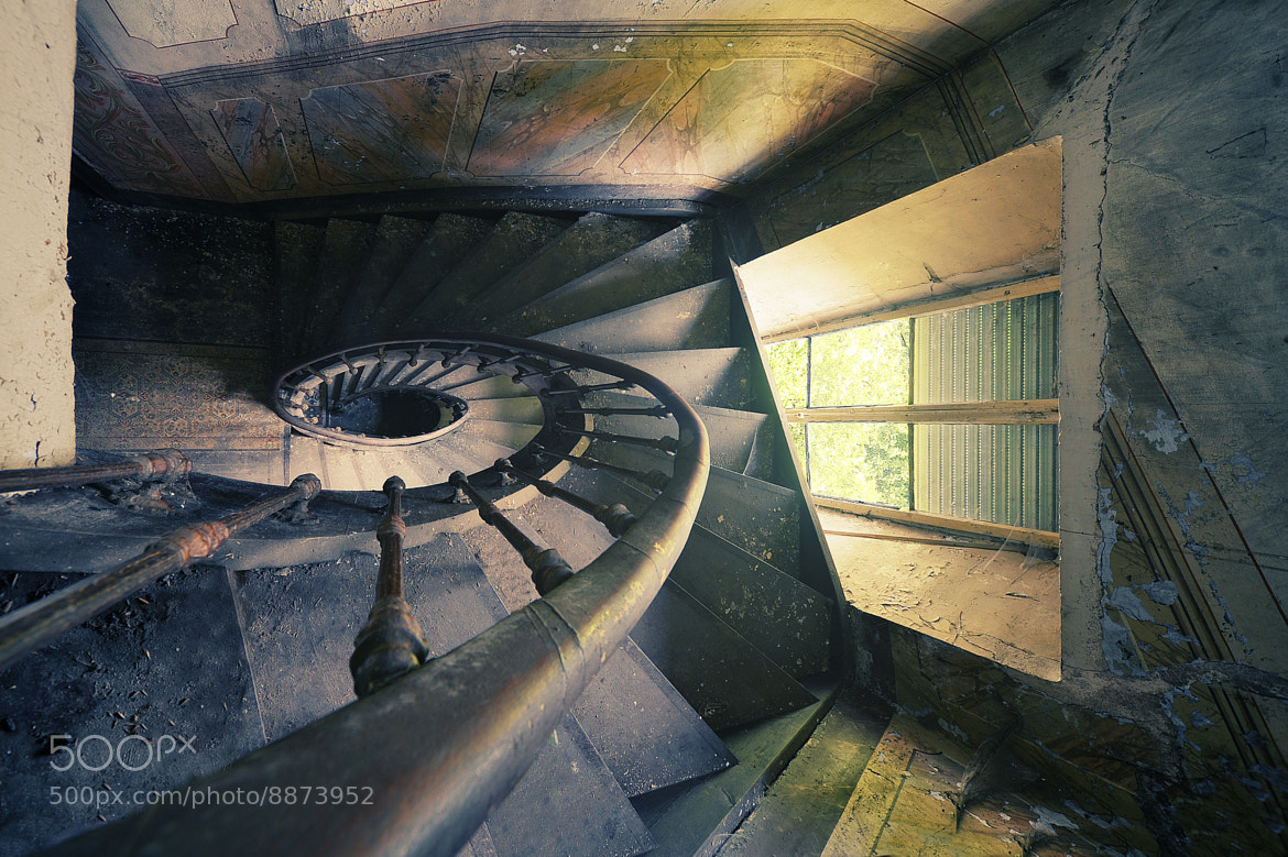 Photograph lost staircase. by Daniel Schmitt on 500px