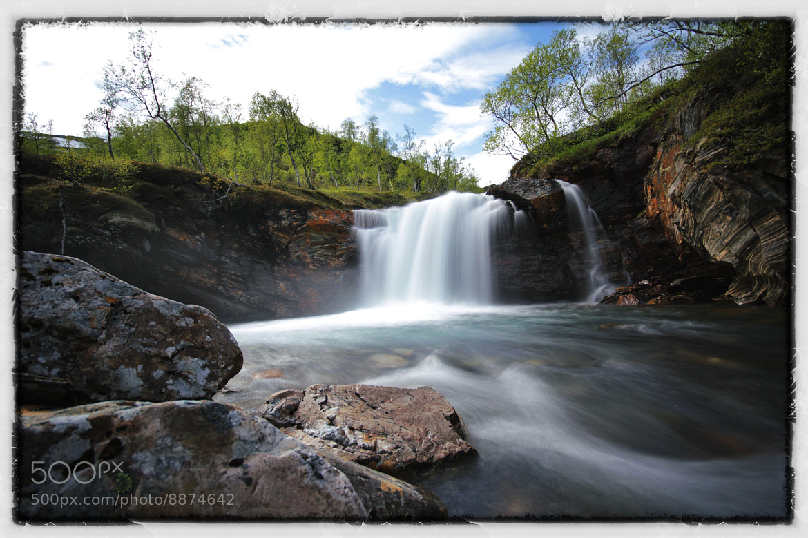 Photograph Waterfall by Daniel Sakariassen on 500px