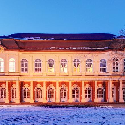 Merseburg Castle Gardens Pavilion