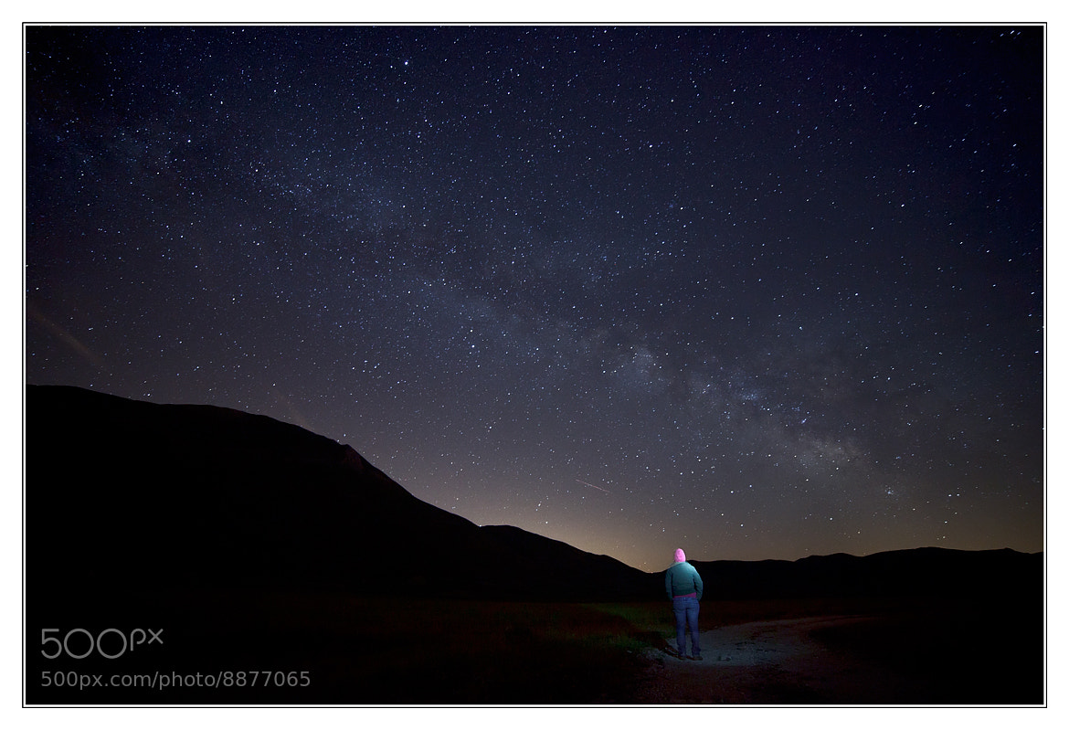Photograph Milky way from Pian Grande by emanuele zoppo martellini on 500px