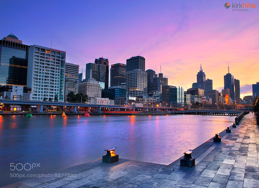 Photograph Melbourne Sunrise by Kirk Hille on 500px