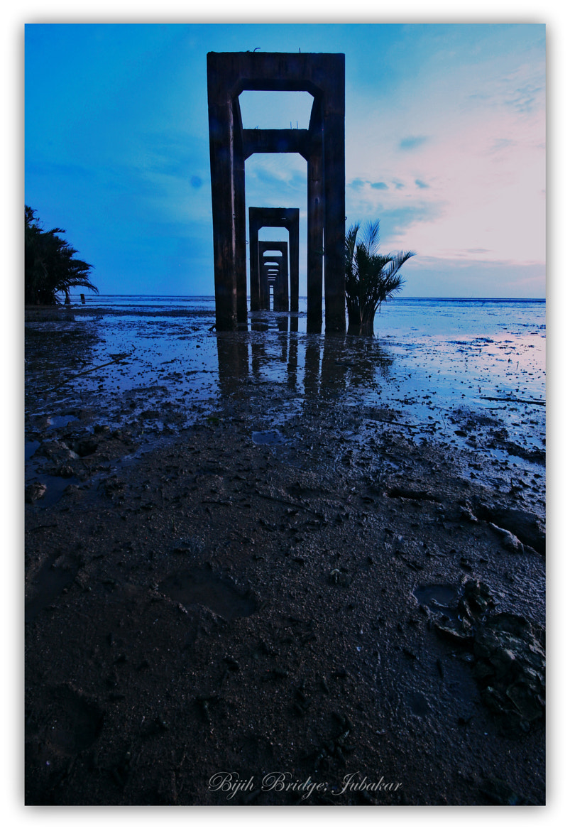 Photograph Mysterious Structure On The Beach by Achmad Ariady on 500px