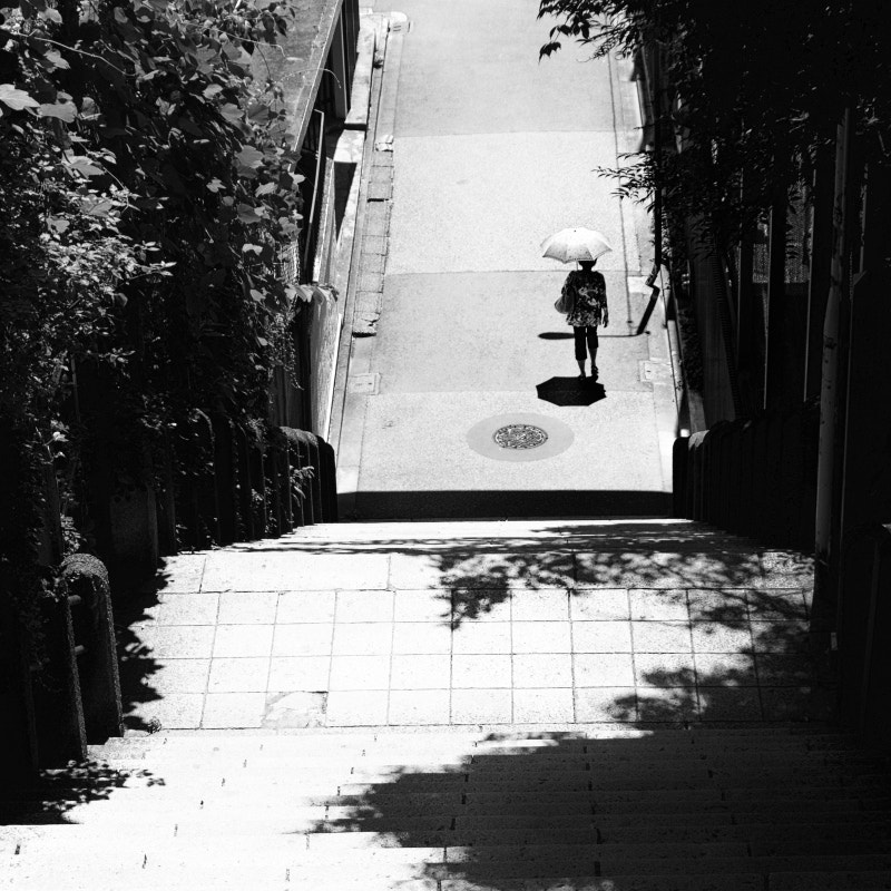 Photograph Woman with Parasol by Masayuki T on 500px