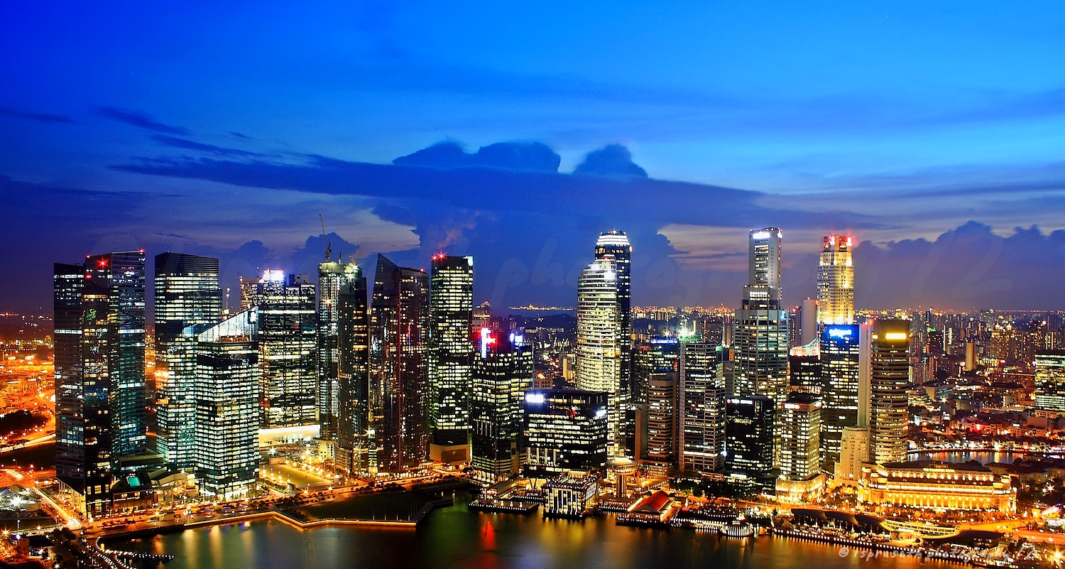 Photograph Singapore CBD by lsp on 500px