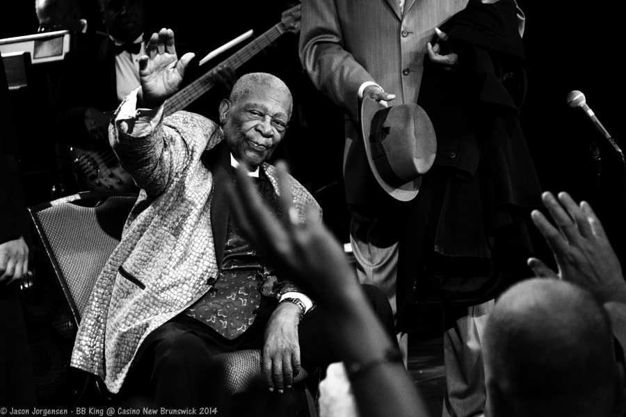 Photograph BB King @ Casino NB by Jason Jorgensen on 500px