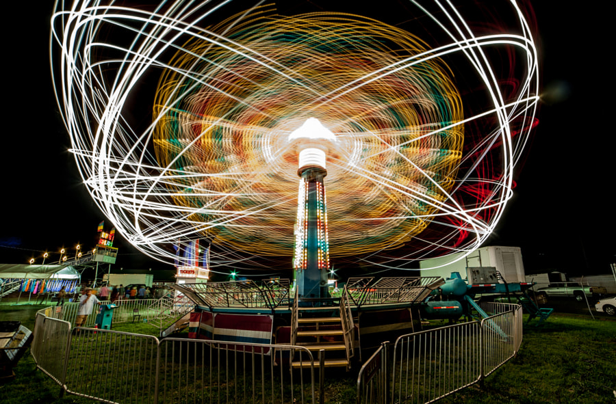 Photograph Spinning by Benjamin King on 500px