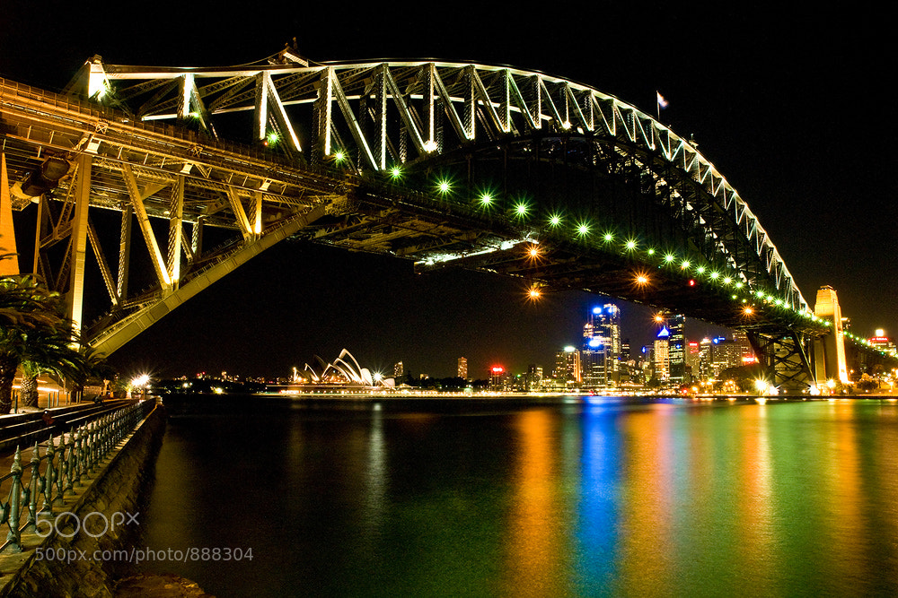 Photograph Sydney Harbour Bridge 2 by Chavalit Kaowongwarn on 500px
