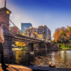 Постер, плакат: Boston Public Garden Bridge