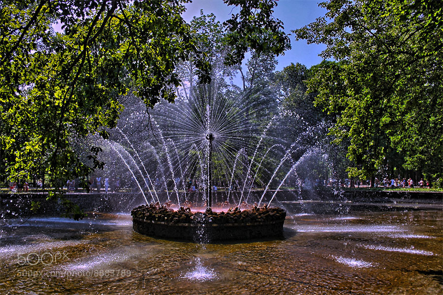 "Photograph Fountain ""The Sun"" by Elena Storm on 500px"