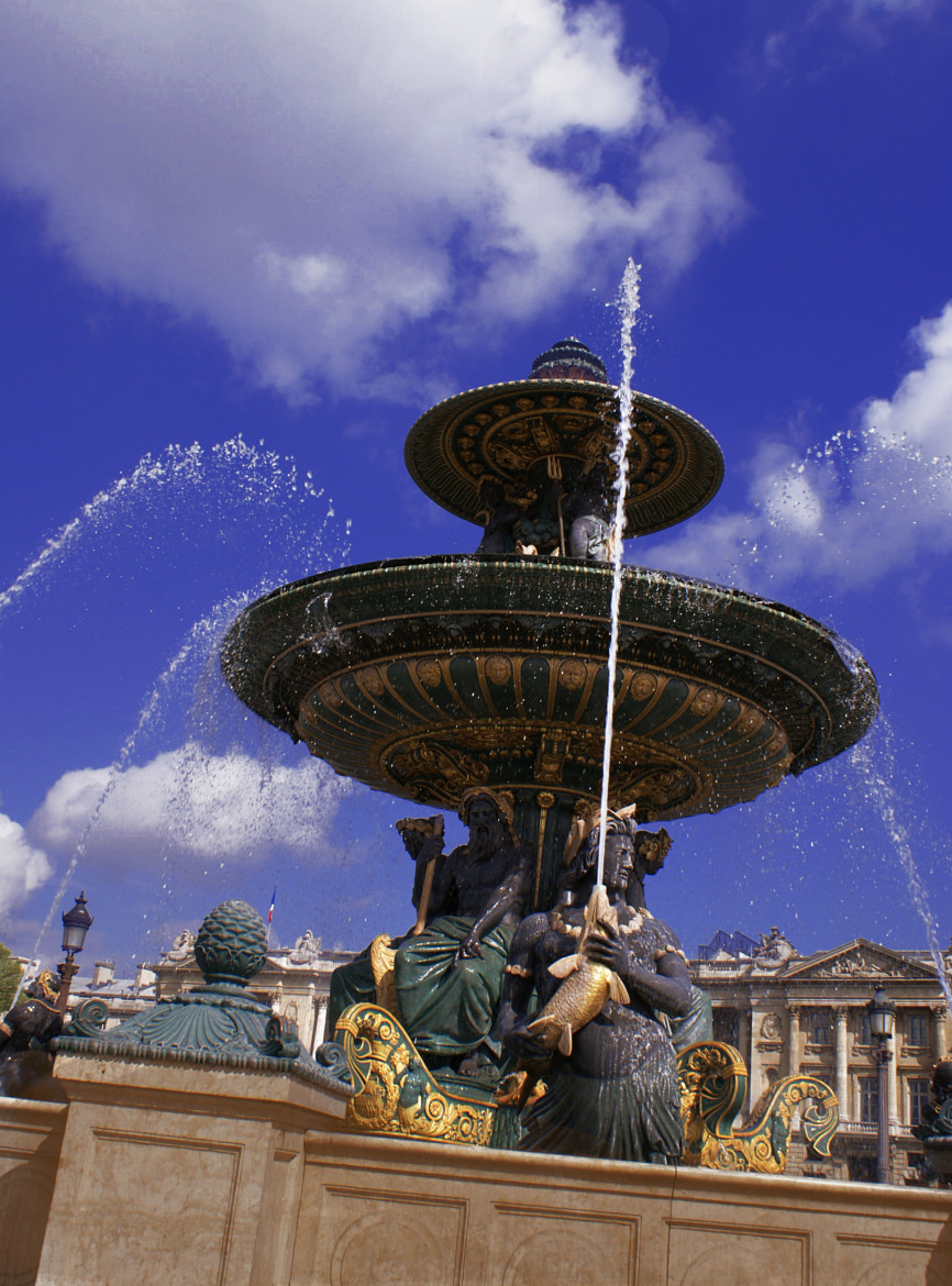 Photograph Parisian Fountain by Tzahi Riven on 500px