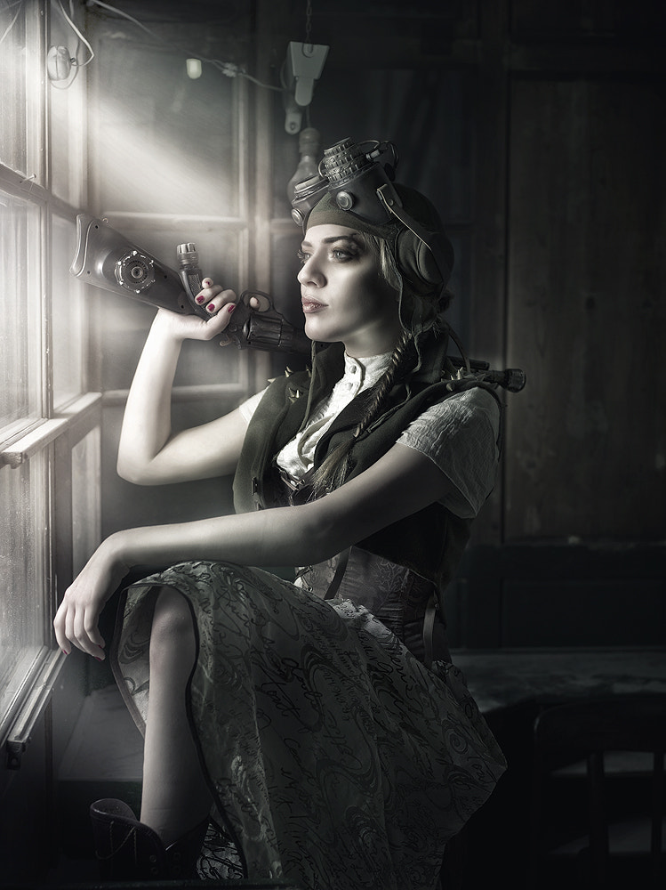 Photograph Steam girl by Rebeca  Saray on 500px