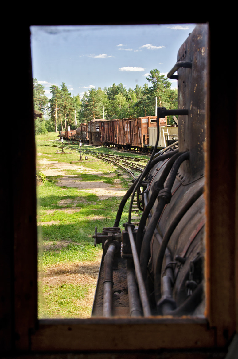 Photograph View from steam engine window by Konstantin Ampilogov on 500px