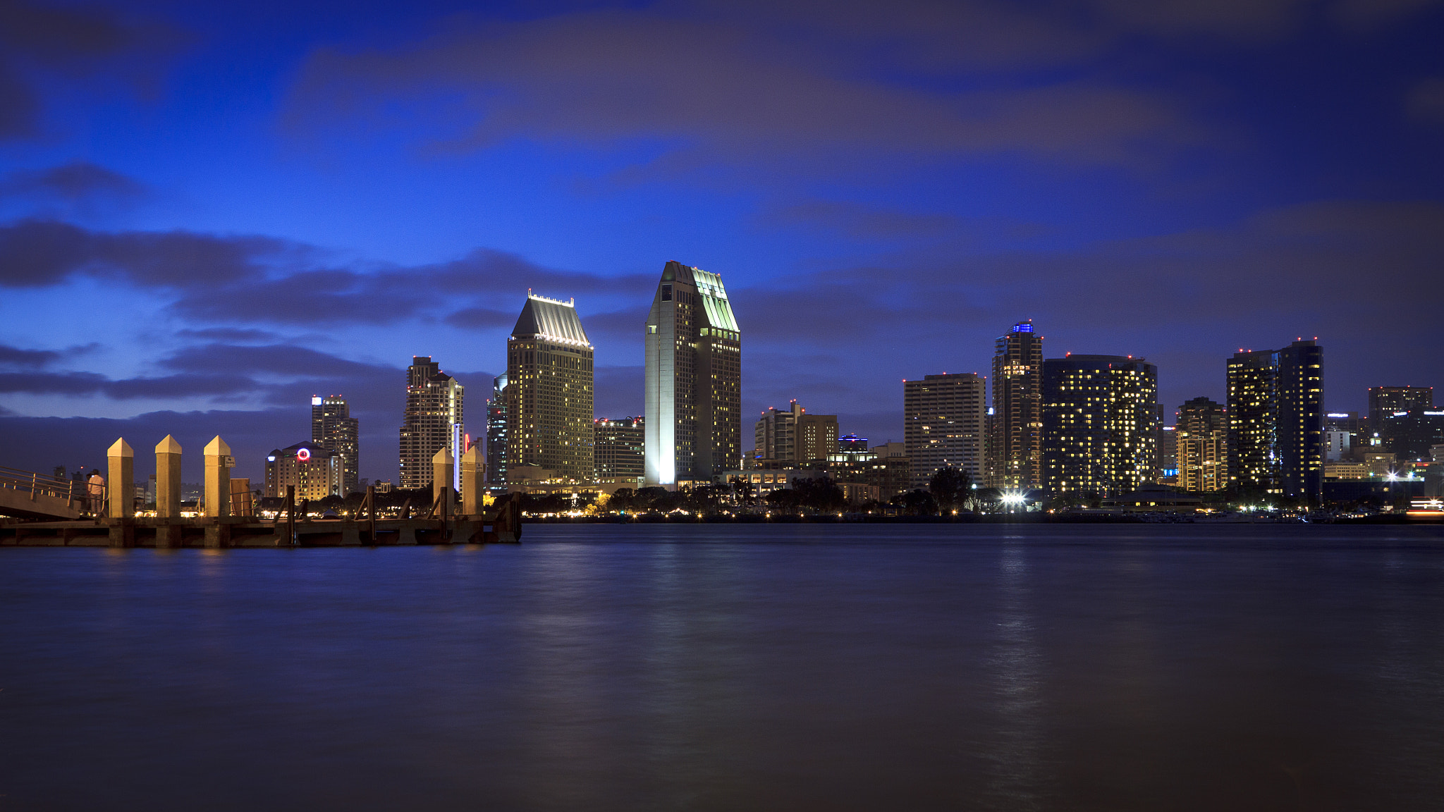 Photograph San Diego Skyline from Coronado Island by Marcos Salvi on 500px