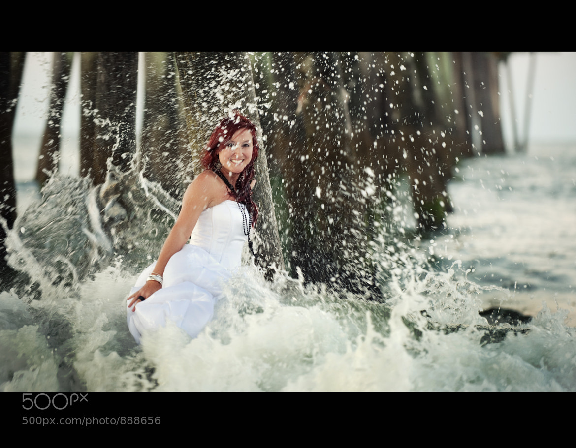 Photograph Bride in the Surf by Stephen Yelverton on 500px