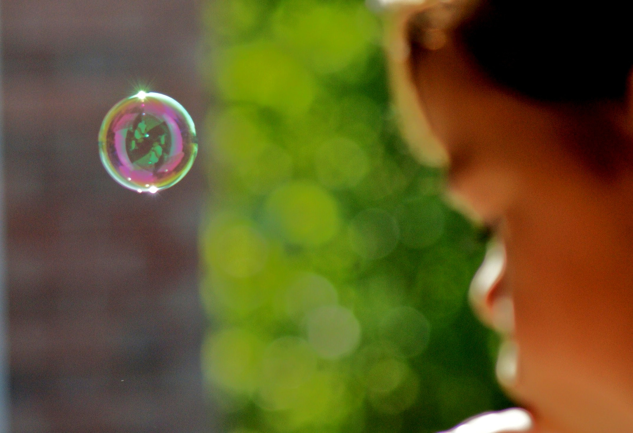 Photograph bubble girl by Lilly C. on 500px