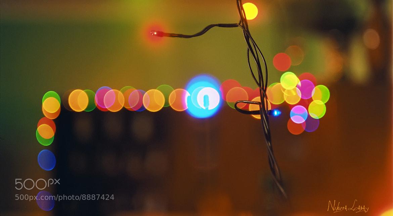 Photograph Christmas lights by Nikita Labay on 500px