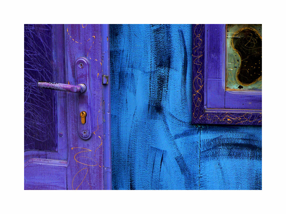 Photograph Door to my Blue~~~ by Lina,  Bulgaria on 500px