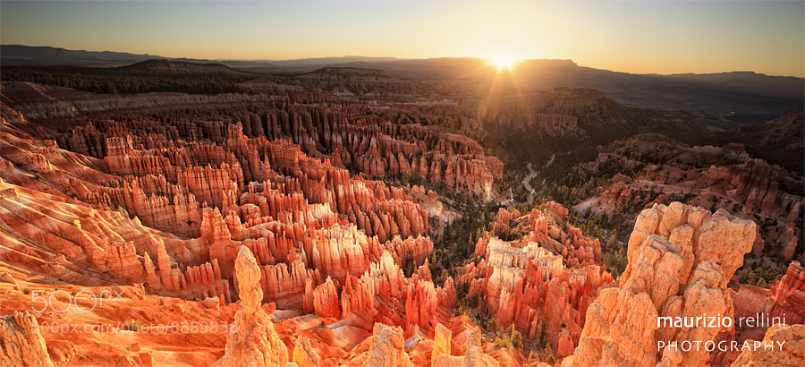 Photograph Bryce dawn by Maurizio Rellini on 500px