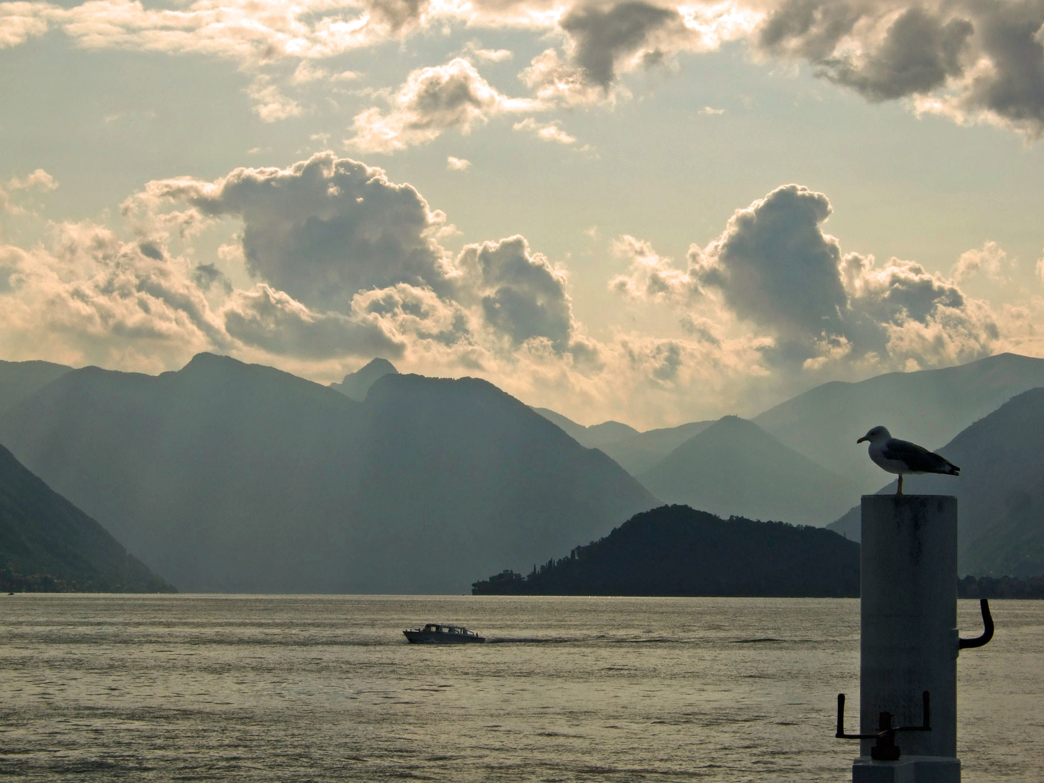 Photograph Lake Como, Dusk by Magic Flying Boots on 500px
