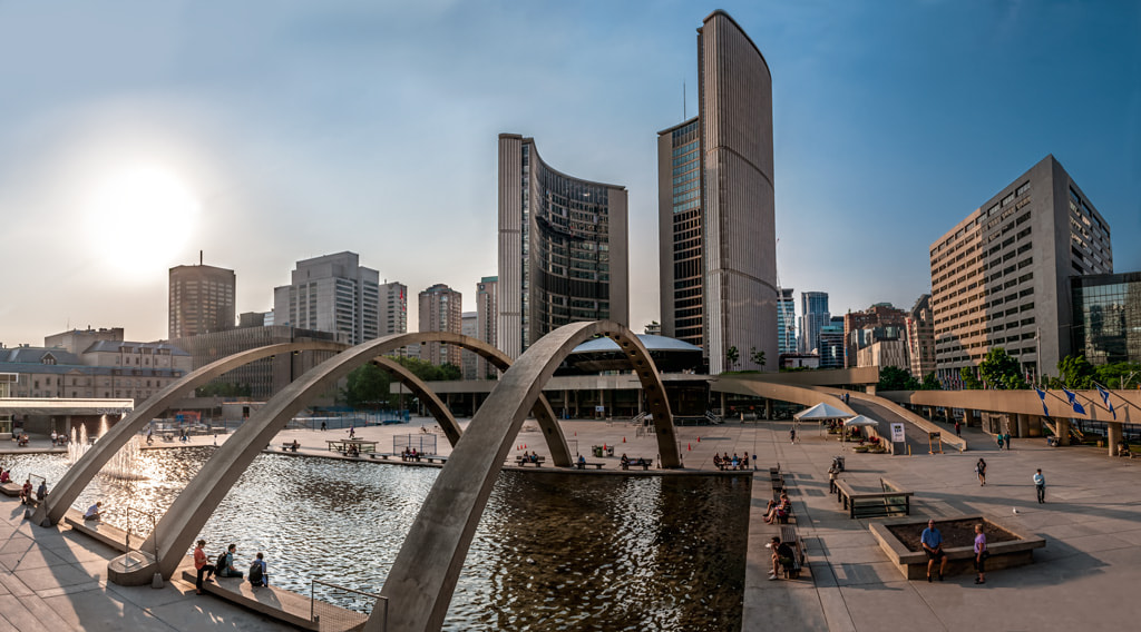Photograph Toronto´s city hall by Pepe Rey on 500px