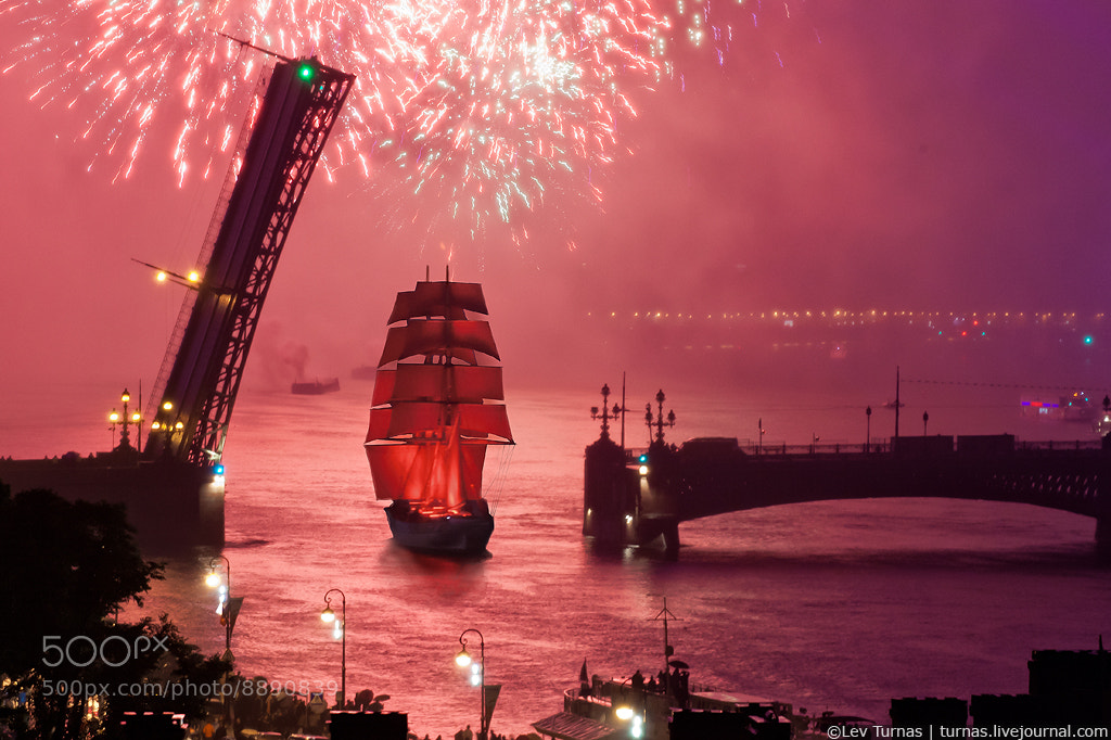 Photograph Red Sails 2012 by Lev Turnas on 500px