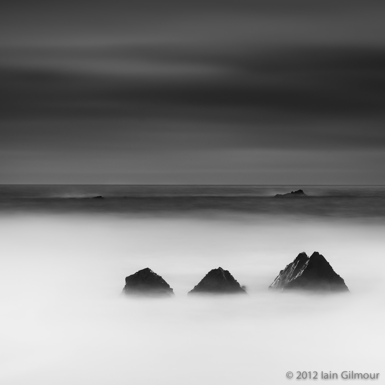 Photograph Marine Layer Minimalism by Iain Gilmour on 500px