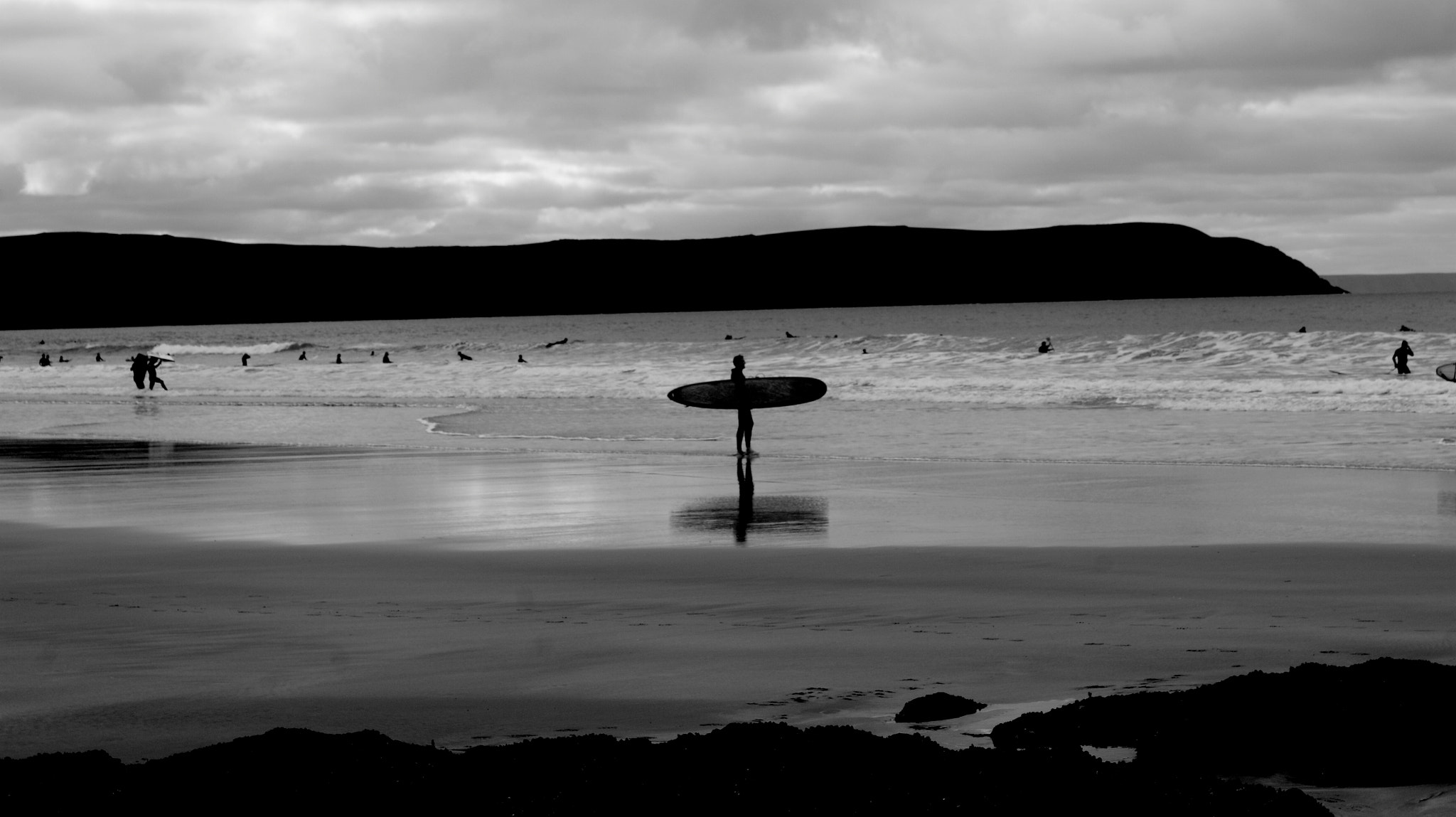 Photograph Lonely Surfer   by Daniel Hensey on 500px
