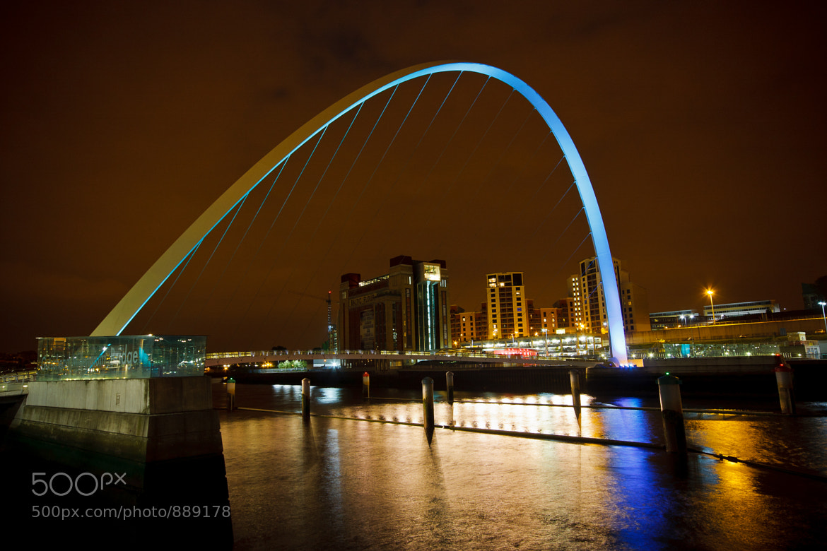 Photograph Gateshead Millenium Bridge by Jeremy Hall on 500px