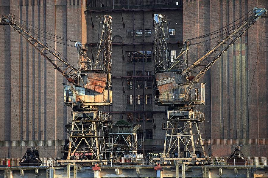 Battersea Cranes