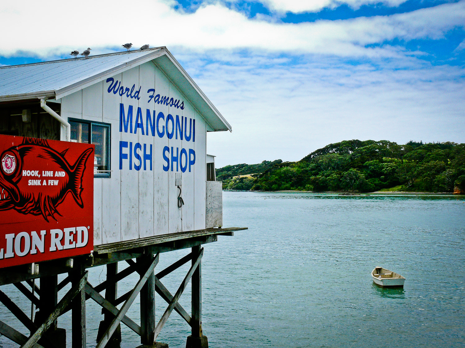 Photograph Mangonui Fish Shop by Martin Tyler on 500px
