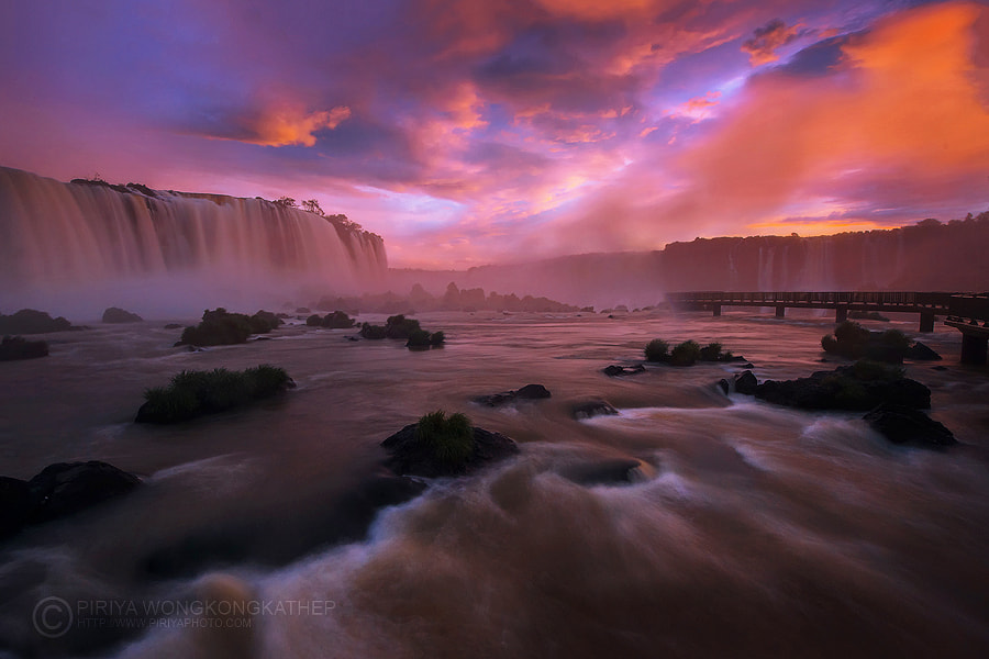 Photograph Magic of Iguazu by Pete Wongkongkathep on 500px