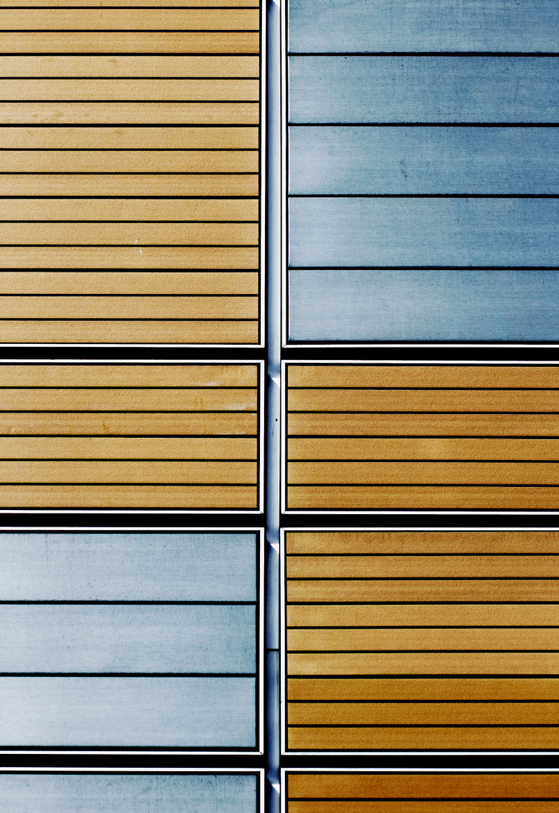 Photograph Tan & Blue Detail by Fincher Trist on 500px