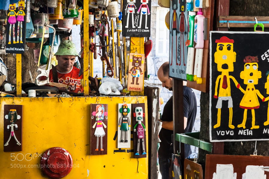 Photograph Santa Teresa street artists by Ricardo Mavigno on 500px