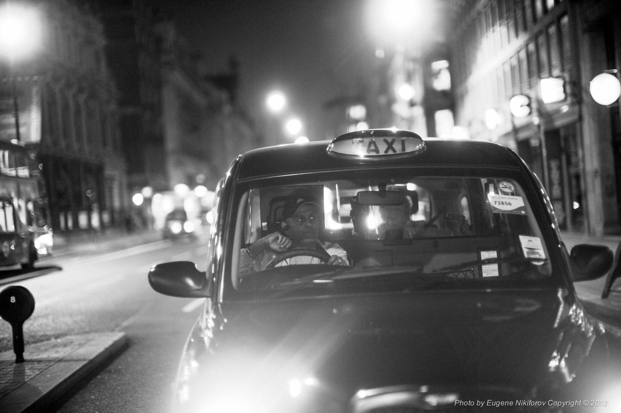 Photograph Taxi, London by Eugene Nikiforov on 500px