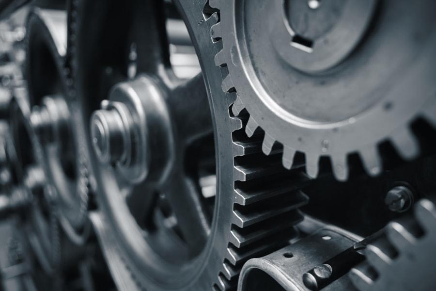 Cog wheels by Jaromír Chalabala on 500px.com