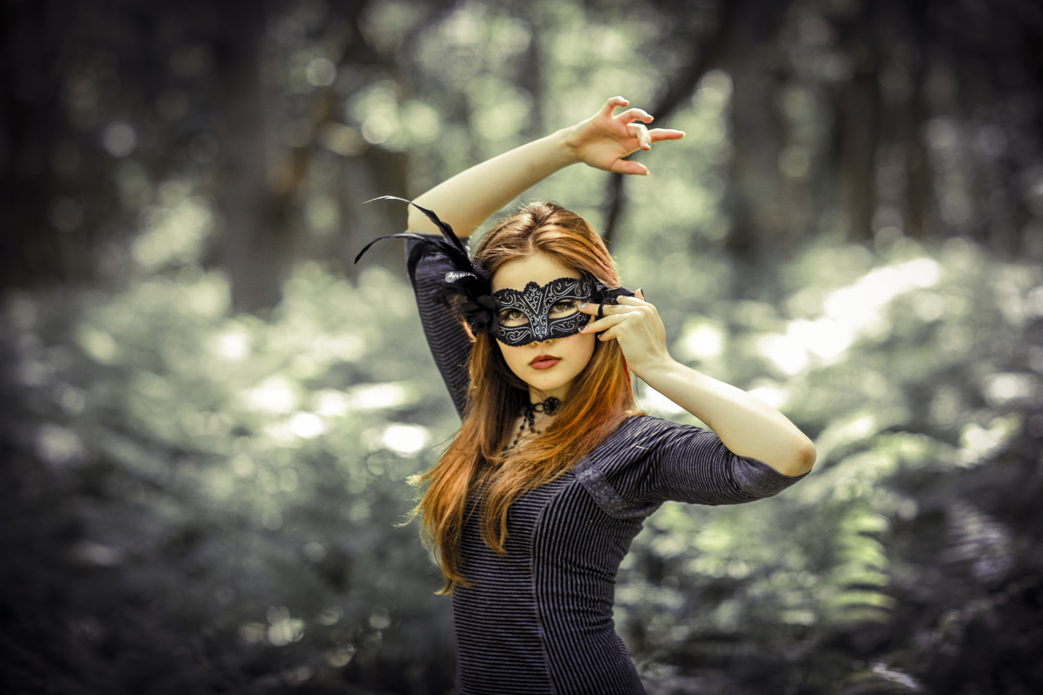 Photograph everybody wears a mask but some wear it better than others by Photocillin  on 500px