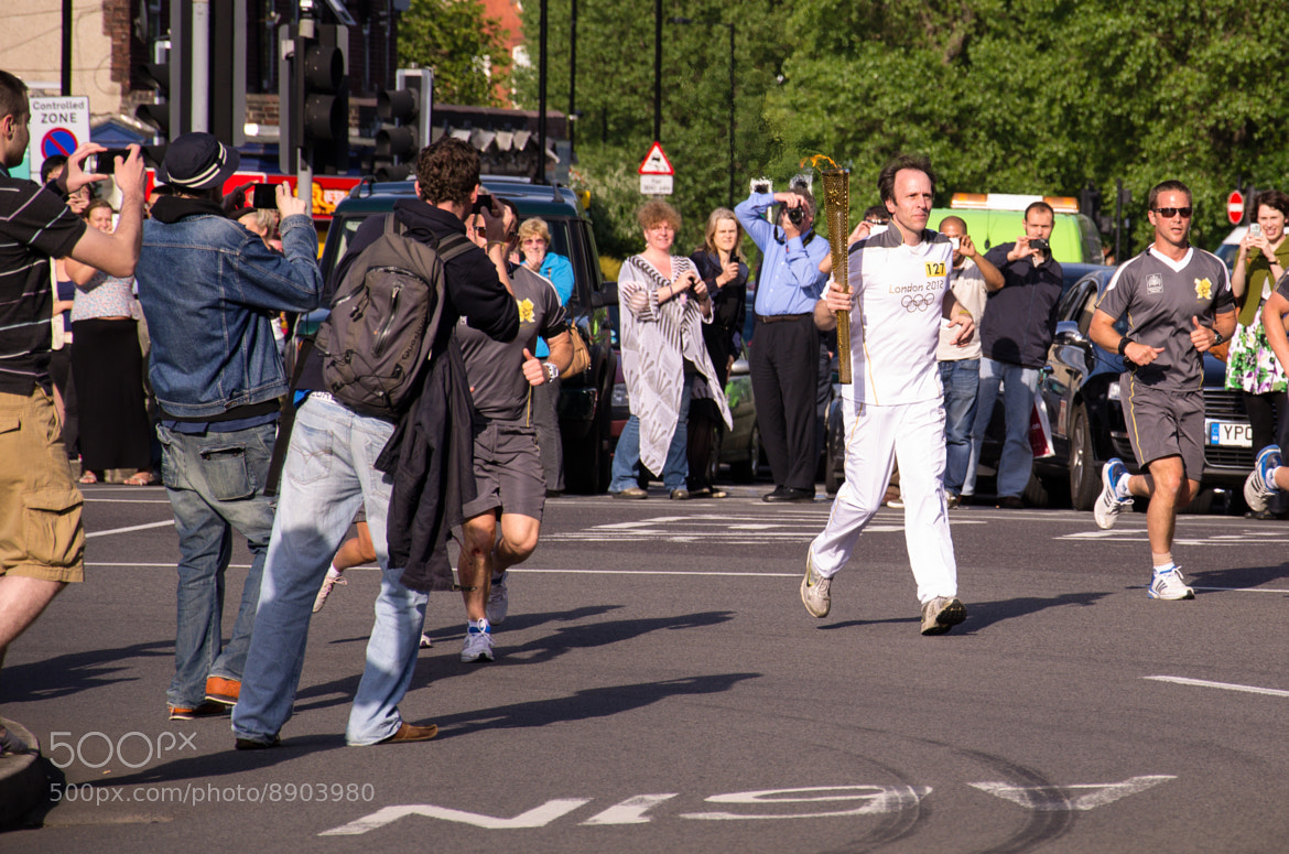 Photograph Sheffield Olympic Torch Relay 2012 by Shane Rounce on 500px