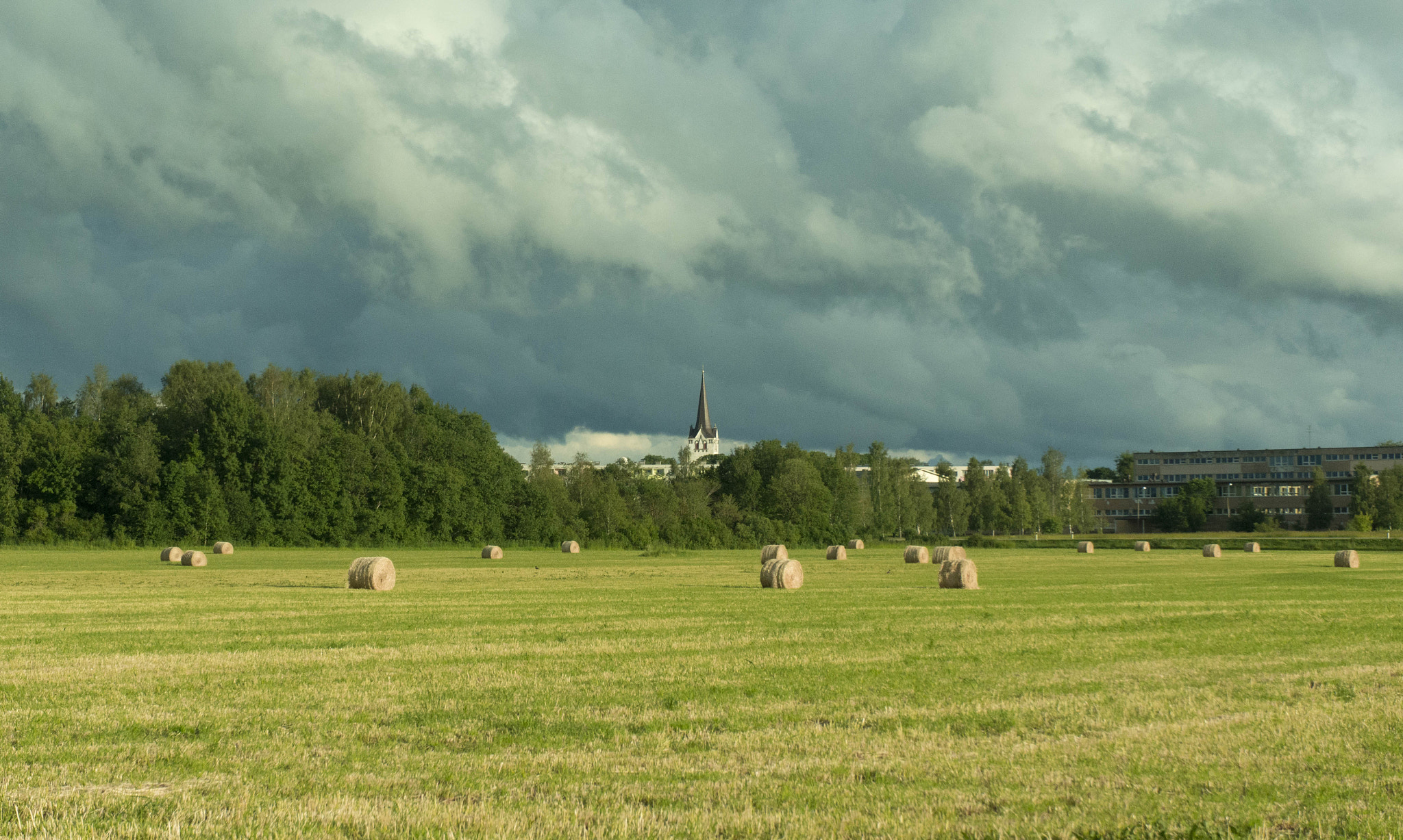 Photograph Over the field to the church! by Ivar Krustok on 500px