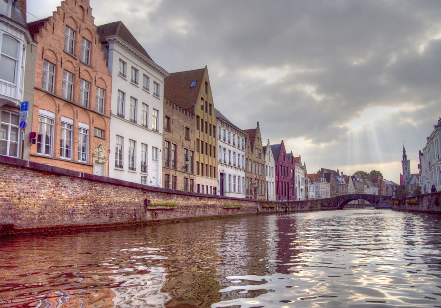 Scenic Cruise in Bruges #HDR