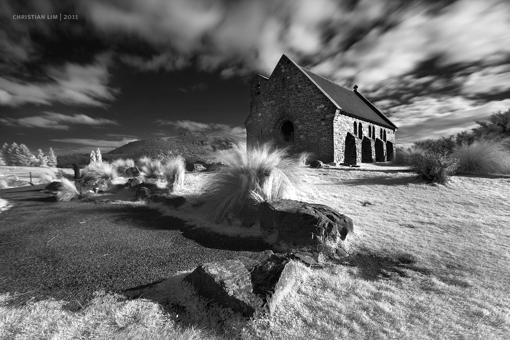 Photograph FAITH & MOTION | Church of the Good Sheperd, Lake Tekapo NZ by Christian Lim on 500px