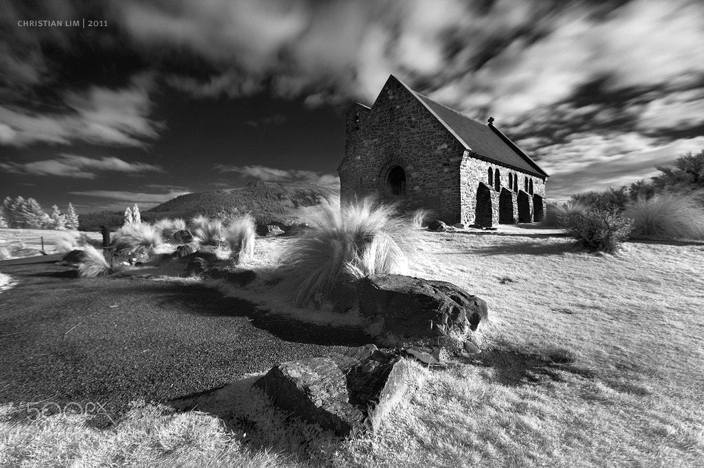 Photograph FAITH & MOTION | Church of the Good Sheperd, Lake Tekapo NZ by Christian Lim on 500px