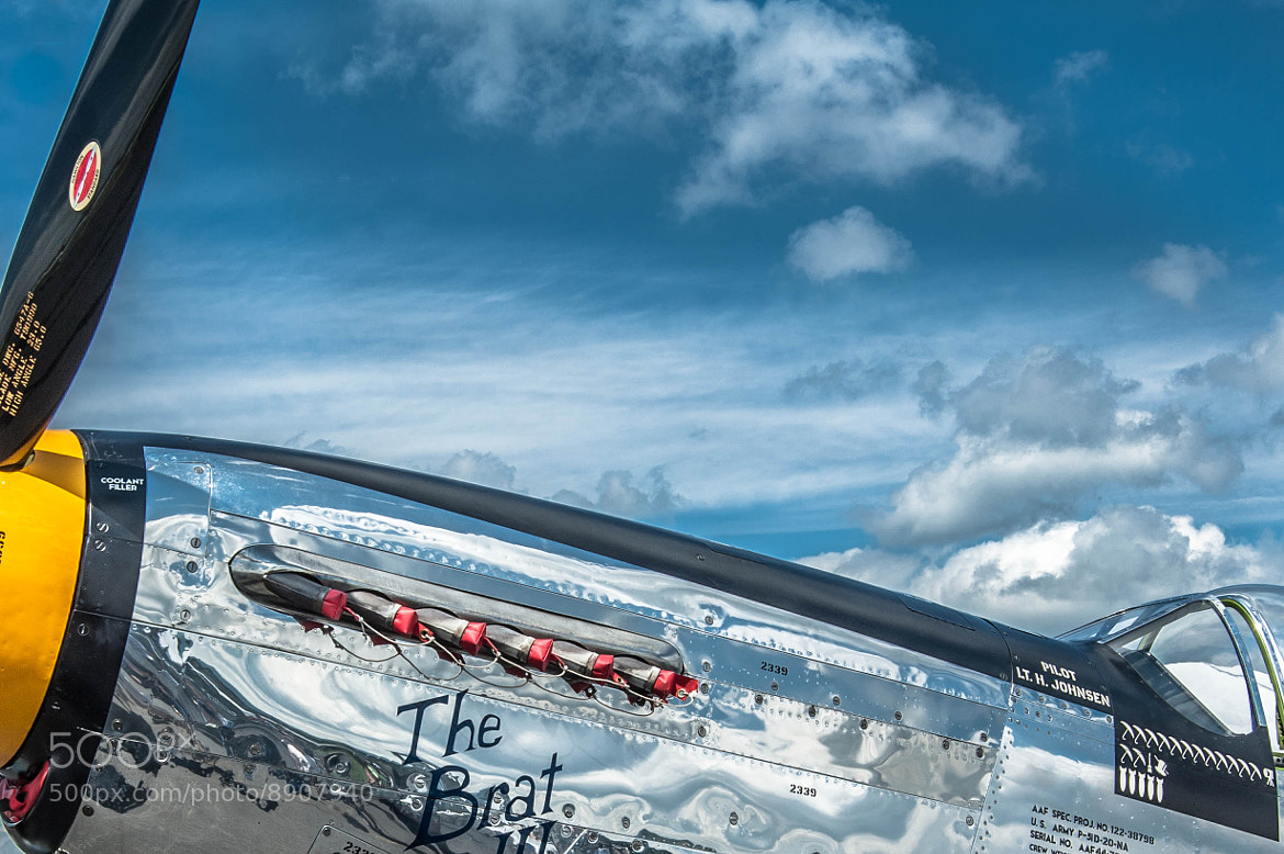 Photograph B-51D Mustang by Todd Miller  on 500px