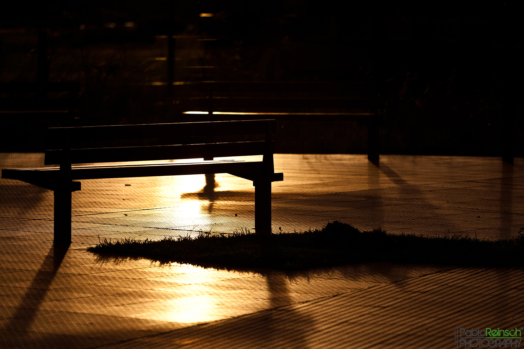 Photograph Bench silhouettes.- by Pablo Reinsch on 500px