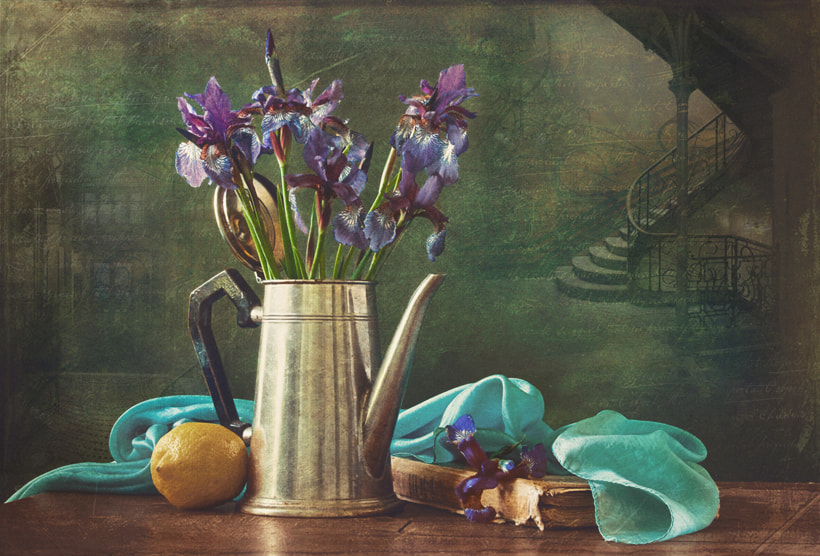 Photograph irises and some art nouveau (with Gaudi) by Yulia Pletinka on 500px