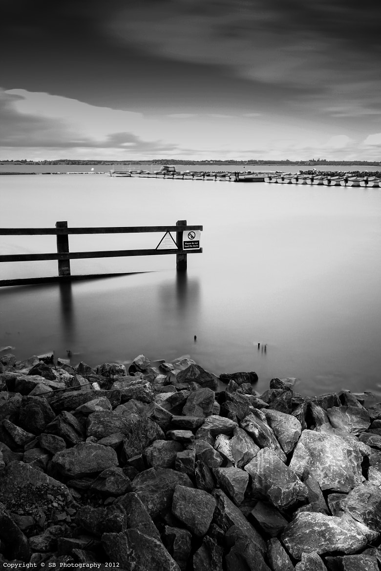 Photograph BW Grafham Water by Sean Byrne on 500px