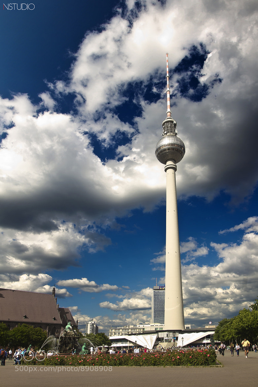 Photograph Berlin - Fernsehturm TV Tower II by NSTUDIO PHOTO on 500px