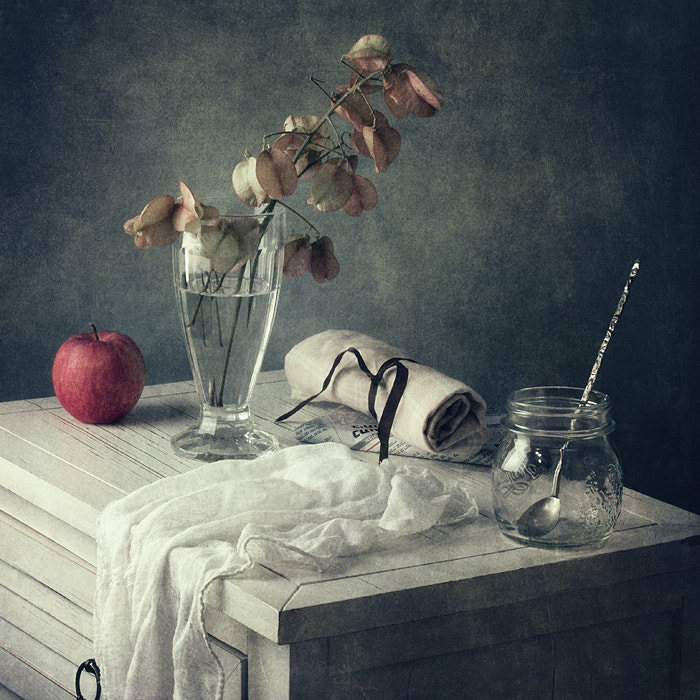 Photograph Red apple by Anna  Nemoy on 500px