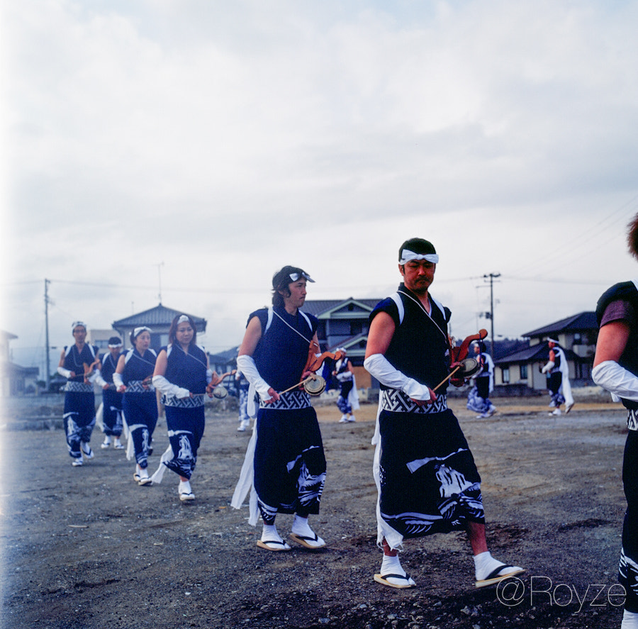 Photograph Fukushima's Taiko Performance- I - March 11, 2012 by Royze   on 500px